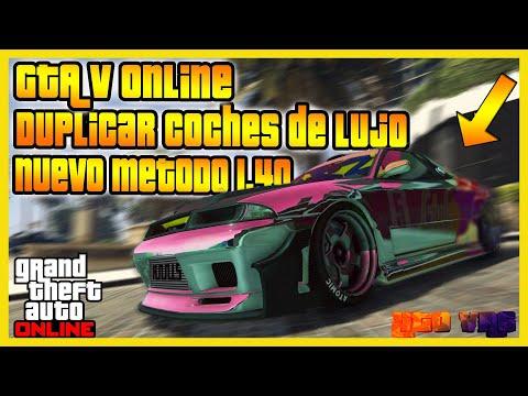 NUEVO TRUCO DUPLICAR AUTOS DINERO INFINITO GTA V ONLINE 1.40 MONEY GLITCH PS4 XBOX ONE
