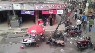 Capsul Market in Tangail, Crush House