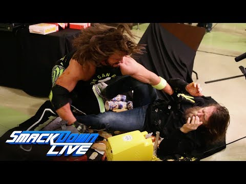 Xxx Mp4 AJ Styles Drives Daniel Bryan Through A Concessions Table SmackDown LIVE Jan 15 2019 3gp Sex