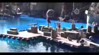 رامز جلال برنامج رامز حول العالم 2 في امريكا حلقه 14 part2
