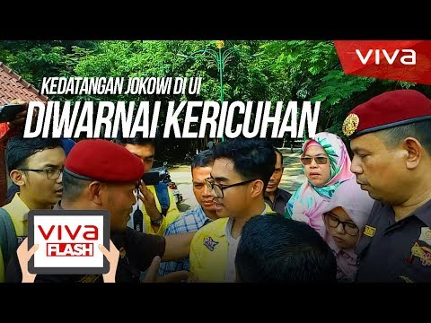 Xxx Mp4 Kedatangan Jokowi Ke UI Diwarnai Kericuhan 3gp Sex