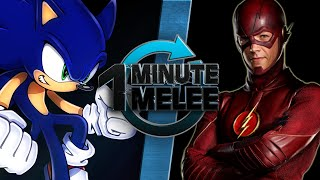 One Minute Melee - Sonic the Hedgehog vs The Flash (SEGA vs DC Comics)
