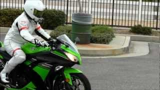 2013 Kawasaki Ninja 300 Special Edition Review Street Ride Slip On Two Brothers Exhaust Sound