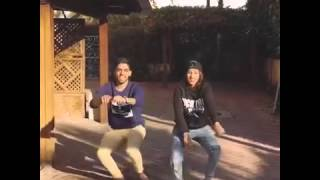 Omar et rajaae belmir entrain de danser sur instagram #1منوضينها عمر و رجاء بلمير