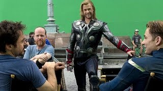 Detrás de cámaras de Los Vengadores 2 Era de Ultrón. Español The Avengers 2