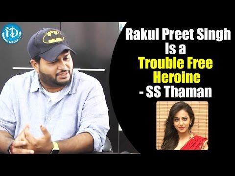 Rakul Preet Singh A Is Trouble Free Heroine - SS Thaman || #Winner || Special Interview