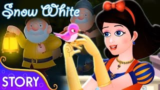Snow White And The Seven Dwarfs | Bedtime Stories For Kids | English Fairy Tales By TinyDreams Kids
