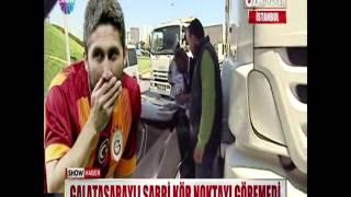 Galatasaraylı Sabri kör noktayı göremedi!
