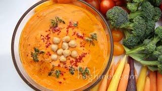 Հումուս - Red Pepper Hummus Recipe - Heghineh Cooking Show