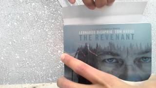 Unboxing: THE REVENAT (El Renacido) blu-ray edicion STEELBOOK