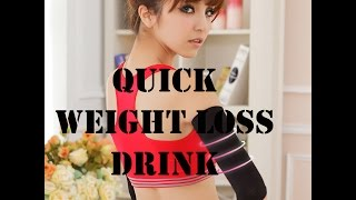 Quick Weight Loss Tips | Quick Weight Loss Drink | Quick Weight Loss Detox Drink  (HD)