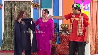 Tahir Anjum, Abida Baig New Pakistani Stage Drama Wohti Da Sawaal Ae Full Comedy Clip