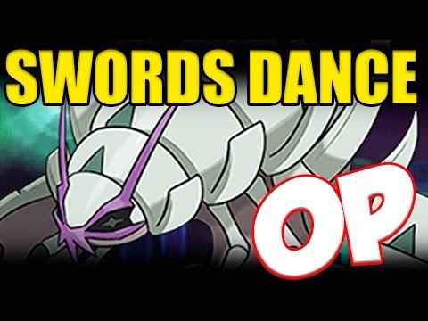 GOLISOPOD SWORDS DANCE OP!