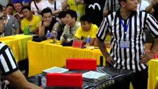 SAL Armwrestling Championship 2015 - Jiseung Hong Vs Strong China Puller Quarter Final