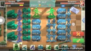 Batalla de barrio commander of toys