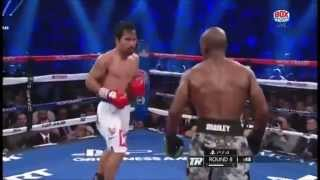 Manny Pacquiao Vs Timothy Bradley 2 Highlights (real)