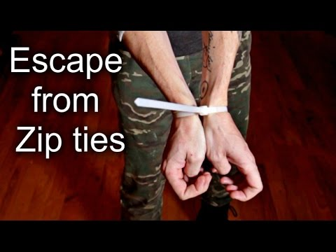 How to Escape from Zip ties