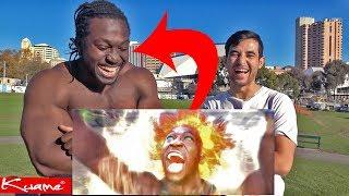 Dragon Ball Z VS Avatar Last Airbender Reaction (Meet The Black Goku)