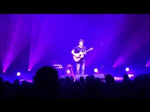 John Mayer Acoustic - Dear Marie - cancer benefit Baltimore Lyric 1072018
