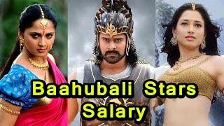 Baahubali 2 Actors Salary