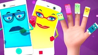 Cell Phone Finger Family And More | Nursery Rhymes Collection Vol 6 | Kids Songs And Baby Rhymes