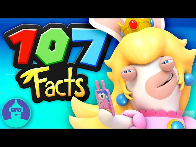 107 Mario + Rabbids: Kingdom Battle Facts YOU Should KNOW!! | The Leaderboard
