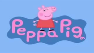 Świnka peppa stary rozpierdala ściane
