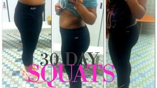 30 Day Squat Challenge - Before and After Results - Does the 30 Day Squat Challenge Work