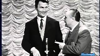 ♫ Jack Palance ♪ Torna a Surriento (Very Rare Italian TV Show 1960) ♫ Video & Audio Restored HD