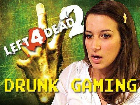 Drunk Gaming Left 4 Dead 2