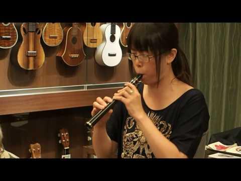 Michi san Plays Charade on Xaphoon Ukulele Mania 2106 07 23