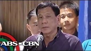 TV Patrol: Duterte, minura pati si Pope Francis sa talumpati