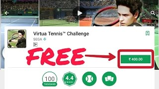 How to download virtua tennis challenge in android(FREE)