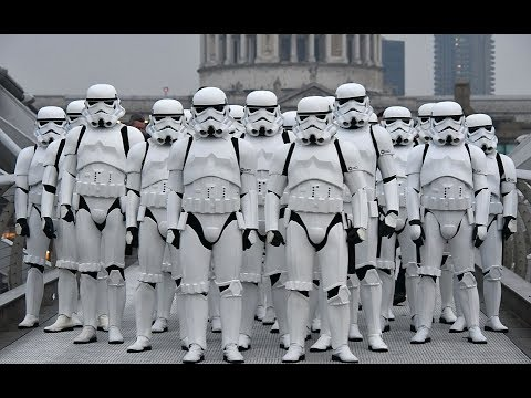 CAN T STOP THE FEELING Justin Timberlake Stormtroopers Dance Moves & More PT 9