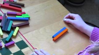 Teaching Addition with Cuisenaire Rods