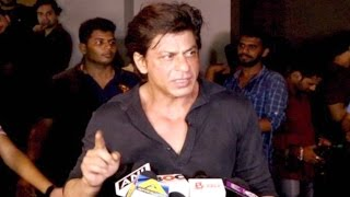 Shahrukh Khan Gets Angry On Reporter When Ask About Raees-Kaabil Clash