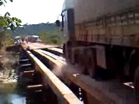 Ponte na Amazonia km 80 A Ponte que Caiu