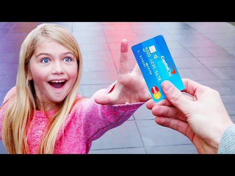I Gave My Credit Card To Random People