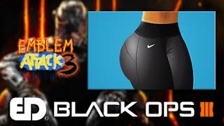 Black Ops 3: GYM NIKE LEGGINGS Emblem Tutorial (Emblem Attack 3)