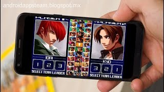 The King Of Fighters 2003 Para Android - Sin Emulador y Compatible Con Gamepad
