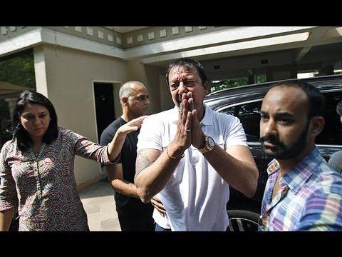 Sanjay Dutt In Tears, Ready To Surrender