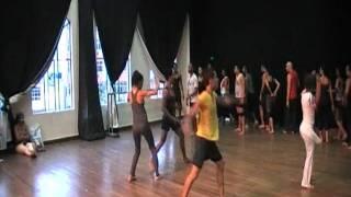 Dança Afro (Batuque) - Aula no Centro Coreográfico