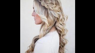 Hairstyle Tutorial: Dutch Braid With Curls