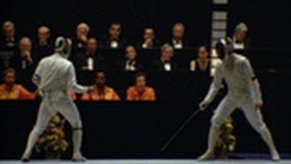 Mauro Numa fights his way to gold - Fencing - Los Angeles 1984 Olympic Games