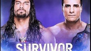 Roman Reigns VS Alberto del Rio title  WWE World Heavyweight Champion 2016