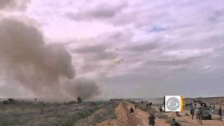 Libya oil fields on fire