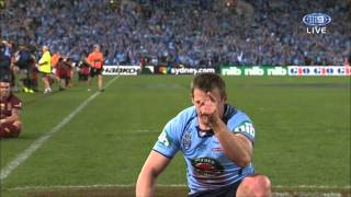 NRL State Of Origin : Great try from Josh Morris