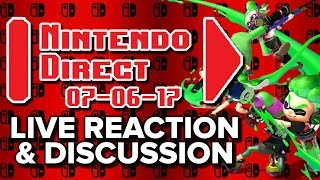 Splatoon 2: New Features! - Nintendo Direct [LIVE REACTION] [PREDICTIONS & DISCUSSIONS]