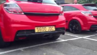 3x Astra Vxr exhaust sounds clip