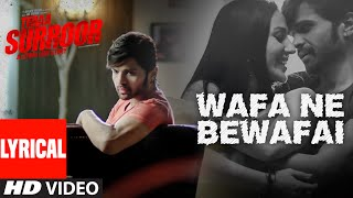 WAFA NE BEWAFAI Lyrical VIDEO Song | TERAA SURROOR | Himesh Reshammiya, Farah Karimaee | T-Series